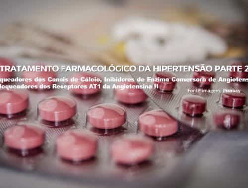 Tratamento farmacológico Hipertensão