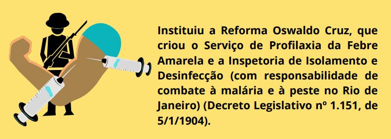 Refroma Sanitária Cruz, SUS - República Velha